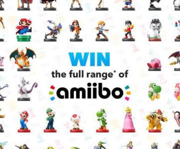 『amiibo』全種類が当たるプレゼントキャンペーン、任天堂UKストアが実施