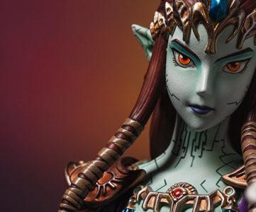 F4Fの新作は、WiiUでHD版も決定した『ゼルダの伝説 トワイライトプリンセス』からゼルダ姫(ガノン憑依Ver.)