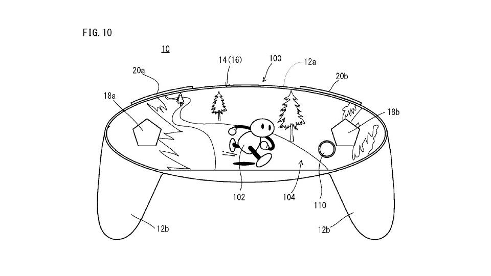 フリーフォームディスプレイを採用するコントローラ型デバイス、任天堂の興味深い特許情報が公開に