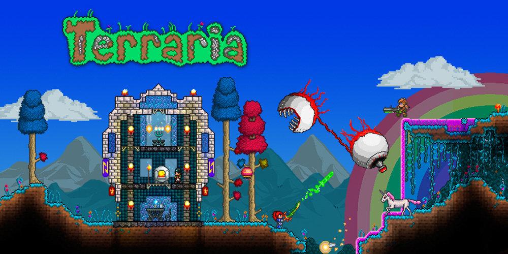 New3DSで遊ぶメリットなど3DS版『Terraria(テラリア)』のさらなる詳細、パッケージ版やWiiU版の情報も