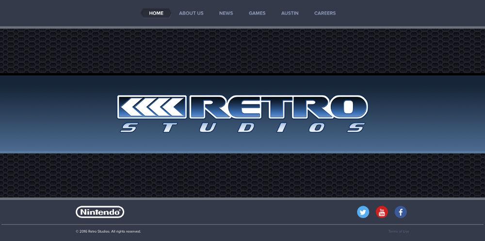 新作発表が待たれる『メトロイドプライム』『ドンキーコング』シリーズ開発のレトロスタジオ、公式サイトのリニューアルが完了