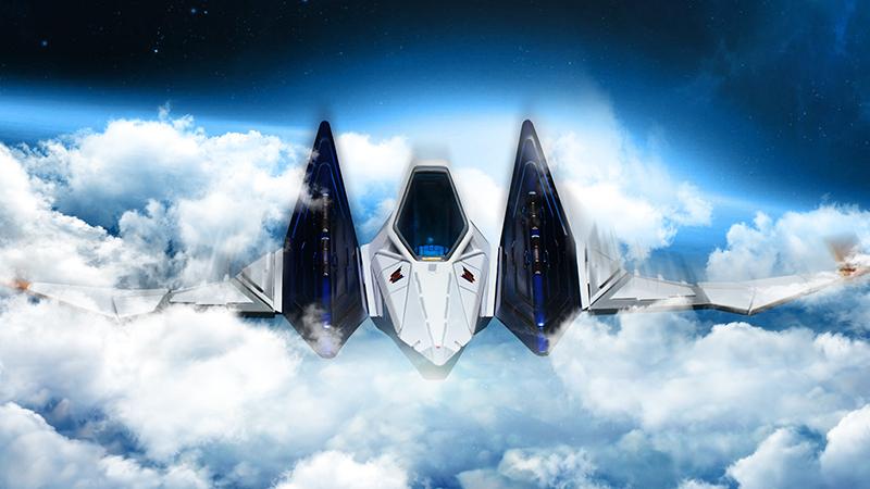 F4F新作に『スターフォックス』の戦闘機「アーウィン」