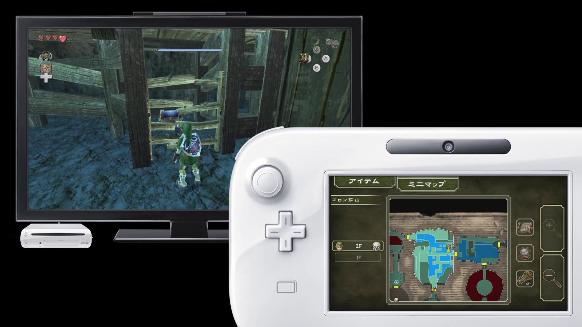 WiiU『ゼルダの伝説 トワイライトプリンセスHD』、開発中はWiiリモコン操作への対応も検討