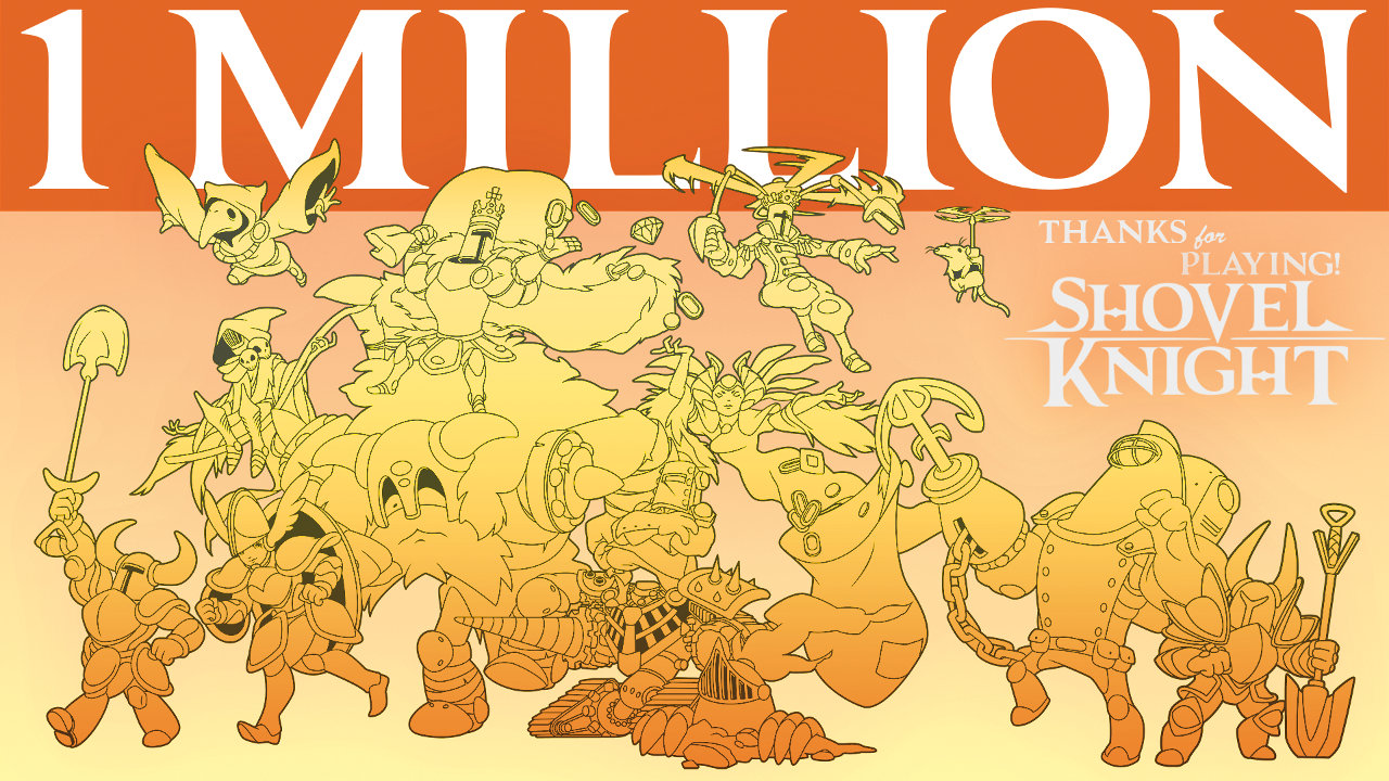 『Shovel Knight』の販売数が120万本を突破、『amiibo』 は18万体を販売してなお人気が持続。パッケージではWiiU版がベストセラーに