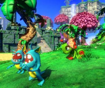 2人の主人公が活躍するPlaytonicの新3Dアクション『Yooka-Laylee』の開発に元レアのNyamyamスタッフも参加