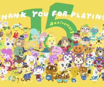第1作目、N64版発売から15周年を迎えた任天堂『どうぶつの森』シリーズの記念映像