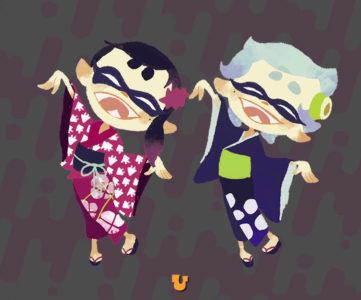 「や うぇに まれぃ〜」『スプラトゥーン』のガチ盆踊り、「元祖正調塩辛節」の公式振付動画&振付表