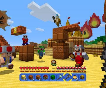 WiiU版『マインクラフト』の新たなマッシュアップは『スーパーマリオ』へのラブレター、マイクロソフト (Mojang / 4J) 側の提案から実現