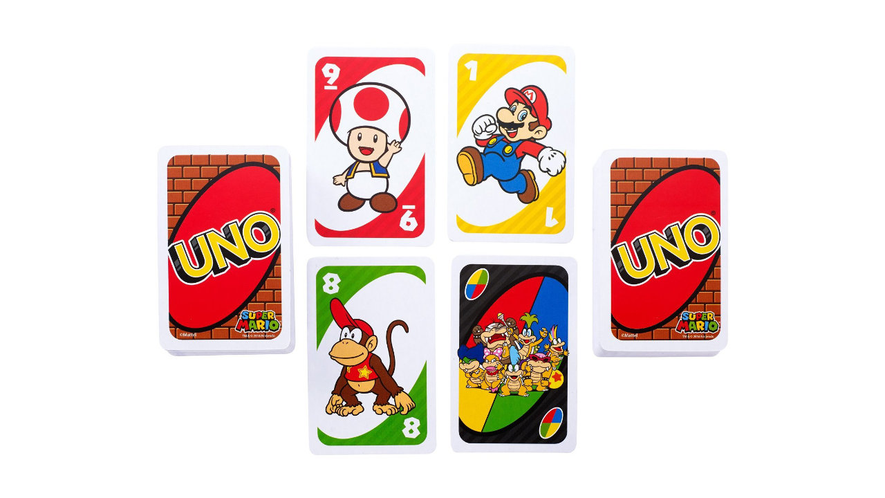 UNO×マリオコラボ『ウノ スーパーマリオ』、ドロー2/ドロー4を跳ね返せる特別カードも付属