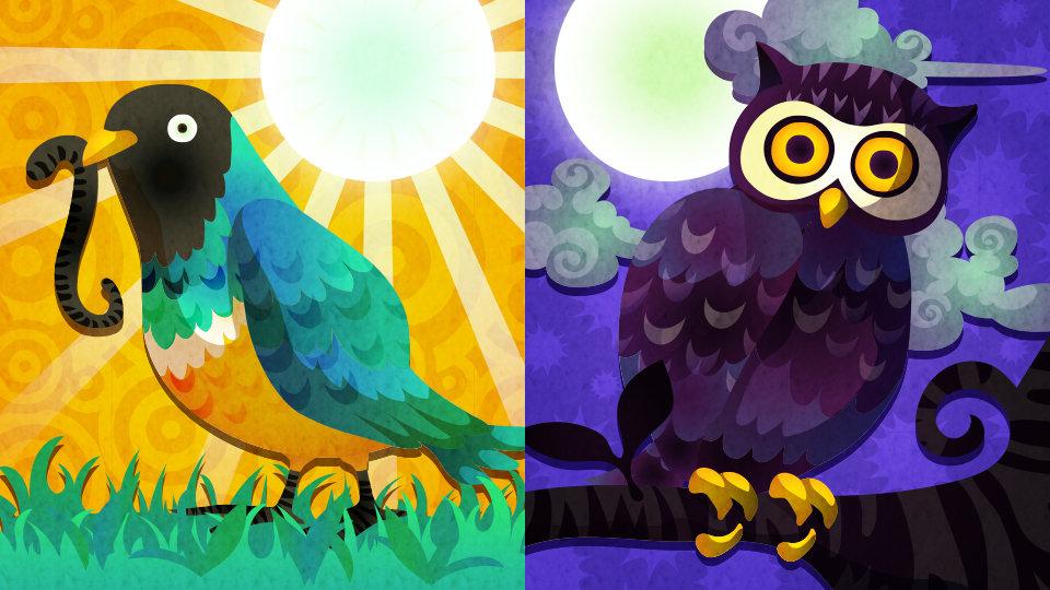 スプラトゥーン フェス「Early Bird (早起き) vs. Night Owl (夜ふかし)」