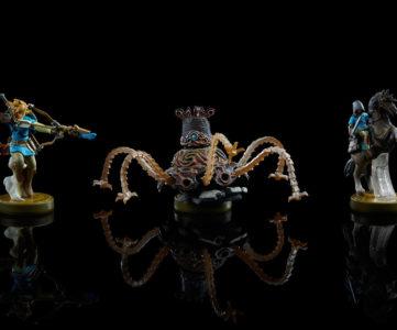 『ゼルダの伝説 ブレス オブ ザ ワイルド』の新『amiibo』3体、『トワプリHD』のウルフリンクはお供として登場