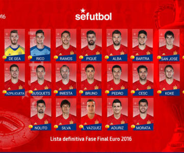 ユーロ2016:大会3連覇を狙うスペイン代表メンバー
