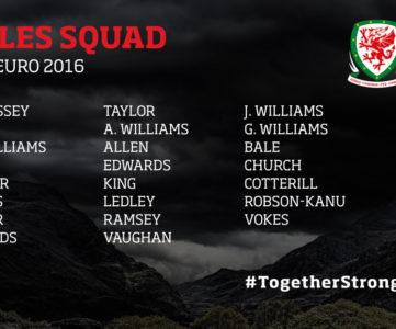 ユーロ2016:ウェールズ代表メンバー、ベイル、キングらが選出