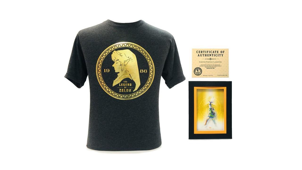 任天堂NY限定、『ゼルダの伝説』Tシャツやセル画コレクション