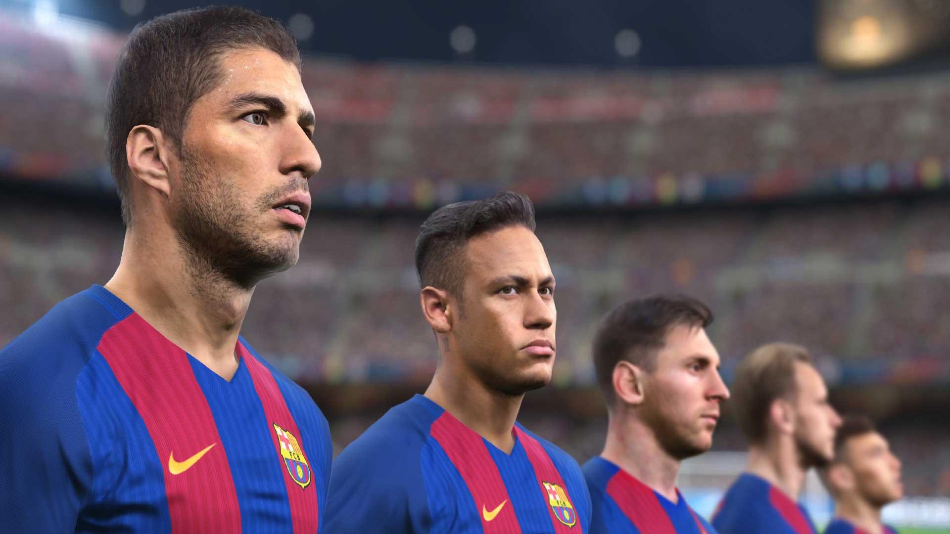 コナミ、FCバルセロナとプレミアムパートナー契約を締結。選手や戦術等を『PES 2017 (ウイイレ2017)』でよりリアルに再現