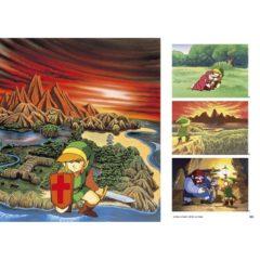 ゼルダの伝説 30周年記念書籍 第1集 THE LEGEND OF ZELDA HYRULE GRAPHICS :ゼルダの伝説 ハイラルグラフィックス - サンプル画像
