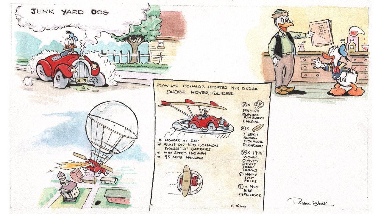 『Epic Mickey』シリーズ3作目はドナルドダックを起用した『Epic Donald』になる予定だった、初期コンセプトアートが出品