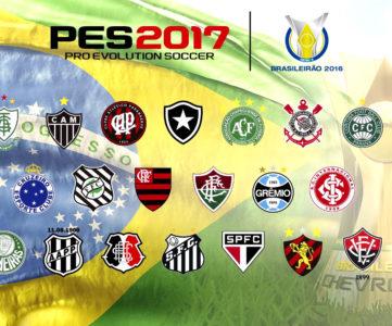 コナミ、CBFと契約締結し『ウイイレ2017』にブラジル1部リーグをフルライセンス収録