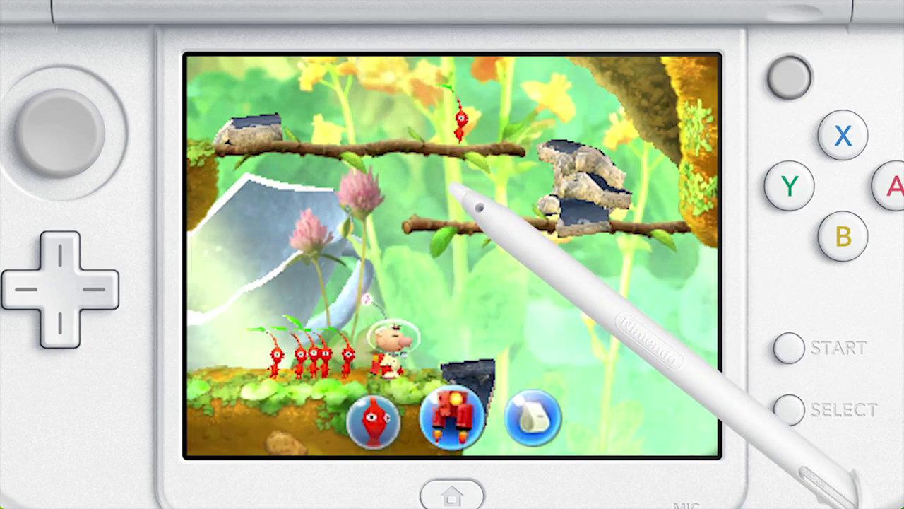 3DS『Hey! ピクミン』の開発は『ヨッシー New アイランド』チーム