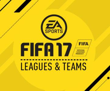 『FIFA 17』の収録リーグ・代表チームリスト:J1を含む世界30以上のリーグ、650以上のチームを収録