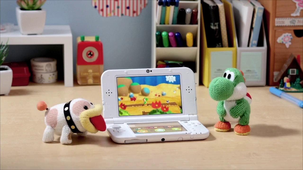 3DS版『ヨッシーウールワールド』、New3DSなら滑らかな秒間60フレームに