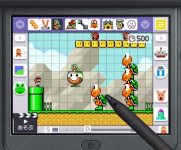 【比較】『スーパーマリオメーカー』ニンテンドー3DS版の特徴、Wii U版との違い