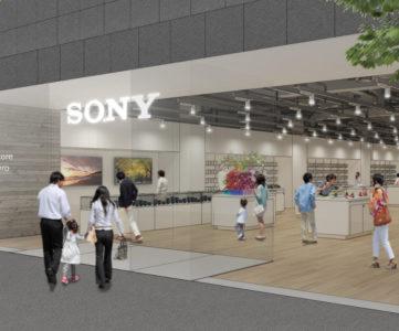 ソニー、北海道初の直営店「ソニーストア 札幌」をアップルストア跡地にオープン