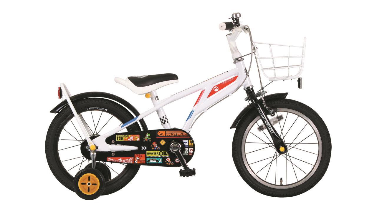 マリオの乗るマシンがモチーフ、任天堂『マリオカート』とコラボした子ども用自転車