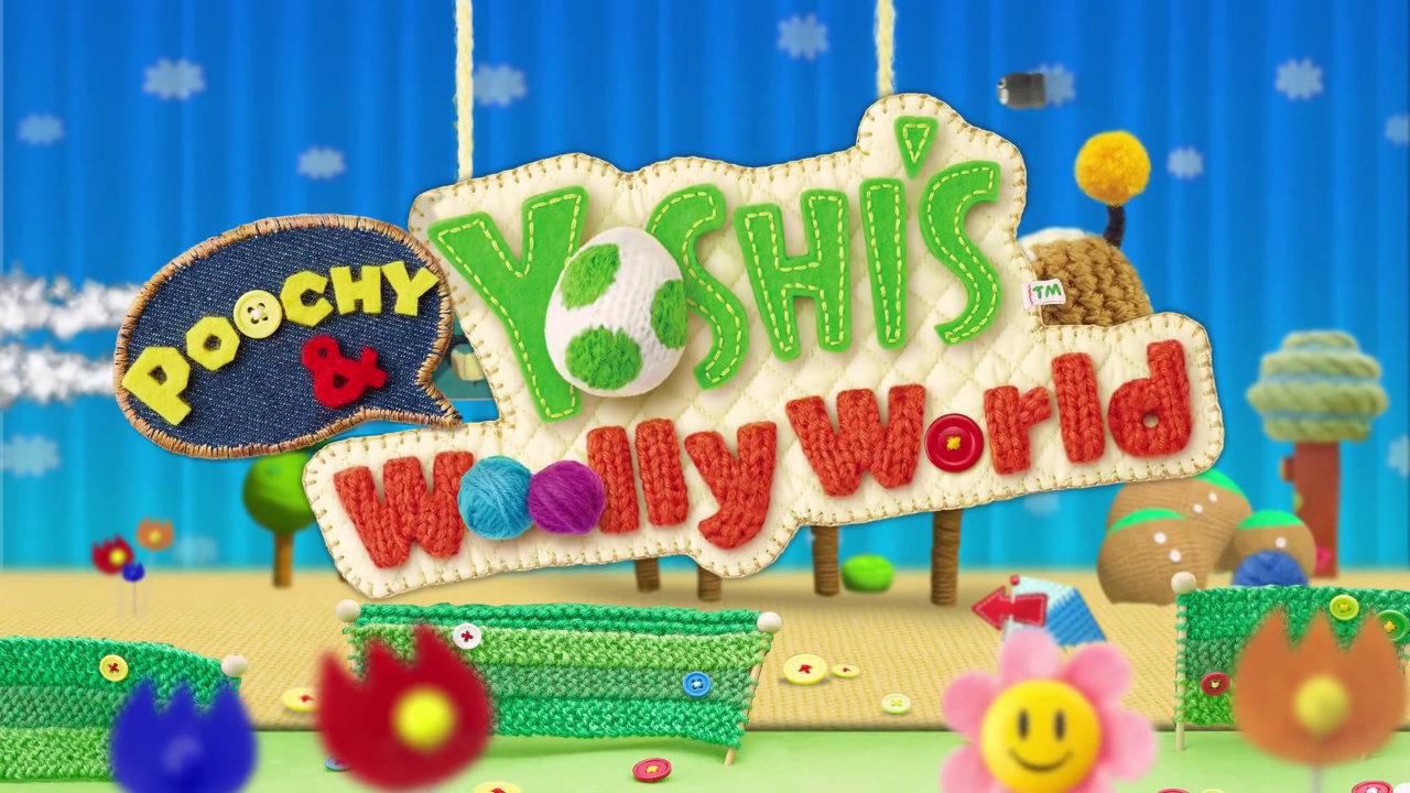 3DS『ポチと!ヨッシー ウールワールド』の『amiibo』要素、WiiU版も「ポチ」対応のアップデート