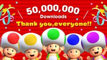 スーパーマリオランが世界5000万ダウンロードを突破