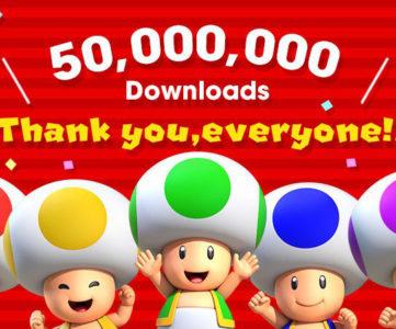 『スーパーマリオラン』が世界5000万DLを突破