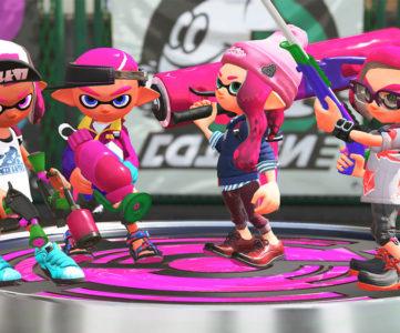 『スプラトゥーン2』、発売3日で国内 Nintendo Switch ソフト売上1位に。Switch ユーザーの半数以上が購入