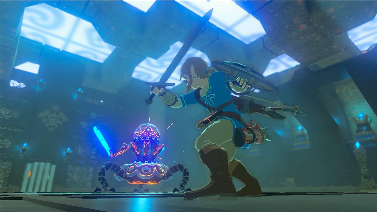 『ゼルダの伝説 BotW』の敵キャラ「ガーディアン」は複数形態・サイズが存在