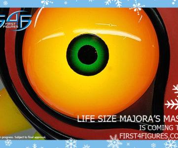 F4F:『ゼルダの伝説 ムジュラの仮面』から実物大「ムジュラの仮面」と『トワイライトプリンセス』の「ミドナ」
