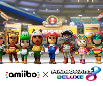 『マリオカート8 デラックス』の対応『amiibo』に『スプラトゥーン』からインクリングが追加、バトルモードのルールは5種類