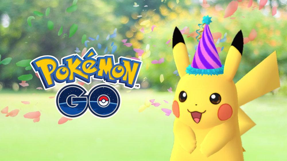 ポケモンGO:ポケモンの誕生日を祝う「とんがり帽子ピカチュウ」が期間限定で出現