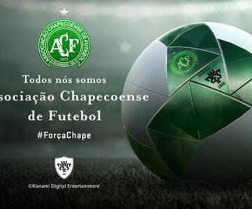 コナミ、「シャペコエンセ」へ義援金を寄付。『ウイイレ2017』の「DP3.0」で新エンブレムとボール「フォルサシャペ」を追加してクラブ再建を祈念