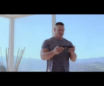 WWEのジョン・シナが Nintendo Switch をプレイ「いつでも、どこでも、誰とでも」を実践
