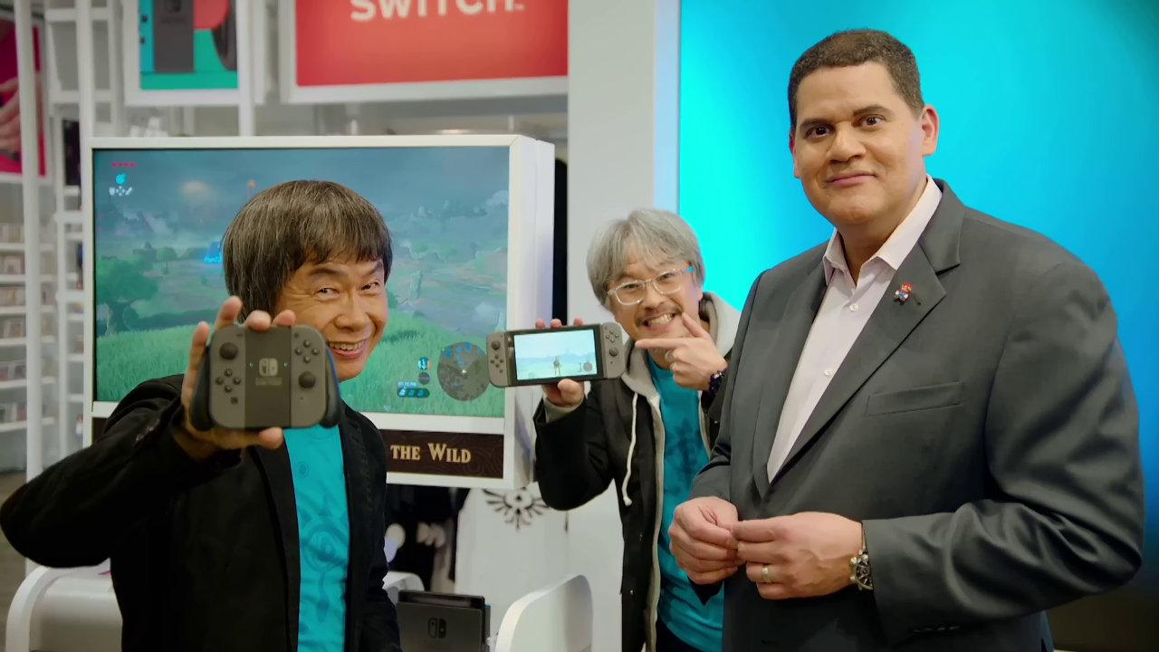 Nintendo Switch:アメリカの2日間売上は Wii を上回り任天堂歴代最高を更新、『ゼルダの伝説 BotW』はローンチタイトルとして過去最高の滑り出し
