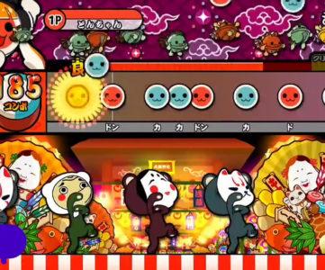アーケード版『太鼓の達人』に『スプラトゥーン』の「シオカラ節」が登場、曲を遊ぶとガールのきせかえをゲット