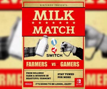 米任天堂、『1-2-Switch』の「ミルク」で酪農家と対戦