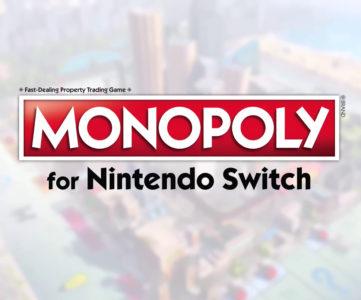 『モノポリー for Nintendo Switch』について、スイッチ版の特徴やゲーム盤の種類、HD振動対応など