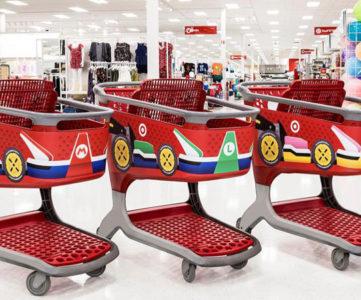 全米650店舗以上のターゲットがマリオカート風にデコレーション、任天堂『マリオカート8 デラックス』のプロモーションの一環