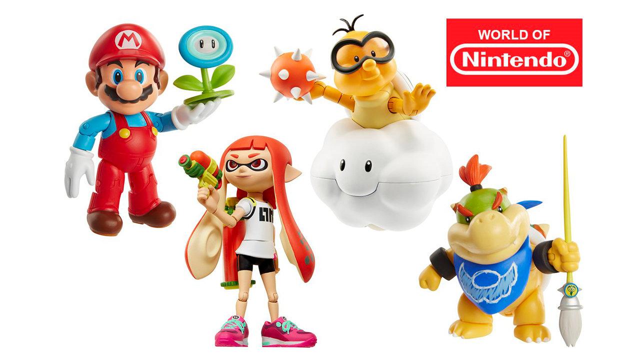 『World of Nintendo』の新作に『スプラトゥーン』のガールや『マリサン』初登場時のクッパJr.など