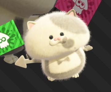 スプラトゥーン2:ジャッジくんによく似た小さなネコの名前が「コジャッジくん」と判明