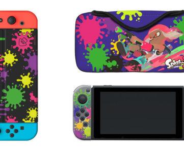 任天堂公認、『スプラトゥーン2』デザインの Nintendo Switch 本体用ポーチや「Joy-Con」カバー等が発売