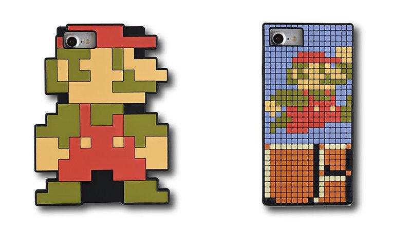 初代『スーパーマリオ』がドット絵そのまま iPhone 用ケースに。iPhone7 / 6s / 6 対応