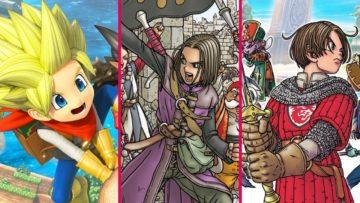 Nintendo Switch で遊べる ドラゴンクエスト シリーズ