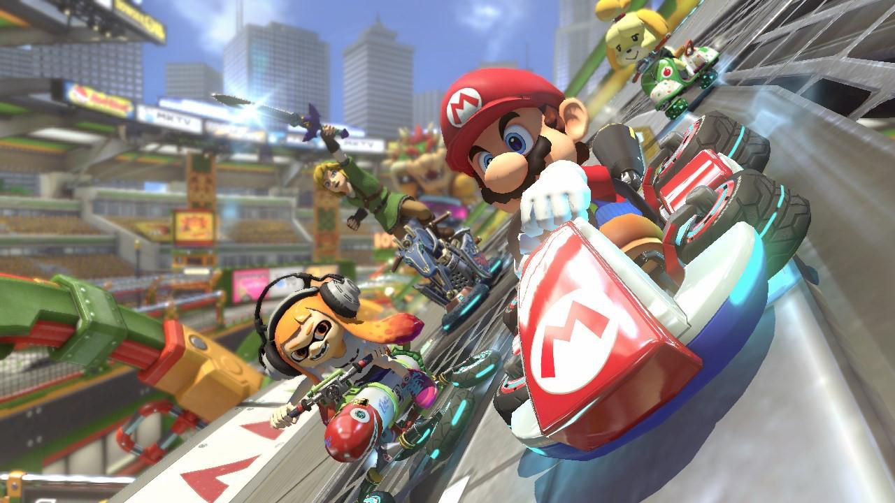 『マリオカート8 デラックス』が累計50万本を突破、国内 Nintendo Switch 初のハーフミリオンタイトルに