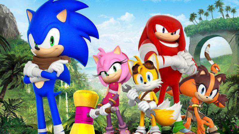 3DCGアニメ『ソニックトゥーン』、7月1日より Netflix で第1シーズン全52話が配信開始